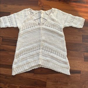 Rachel Roy cream sweater xs